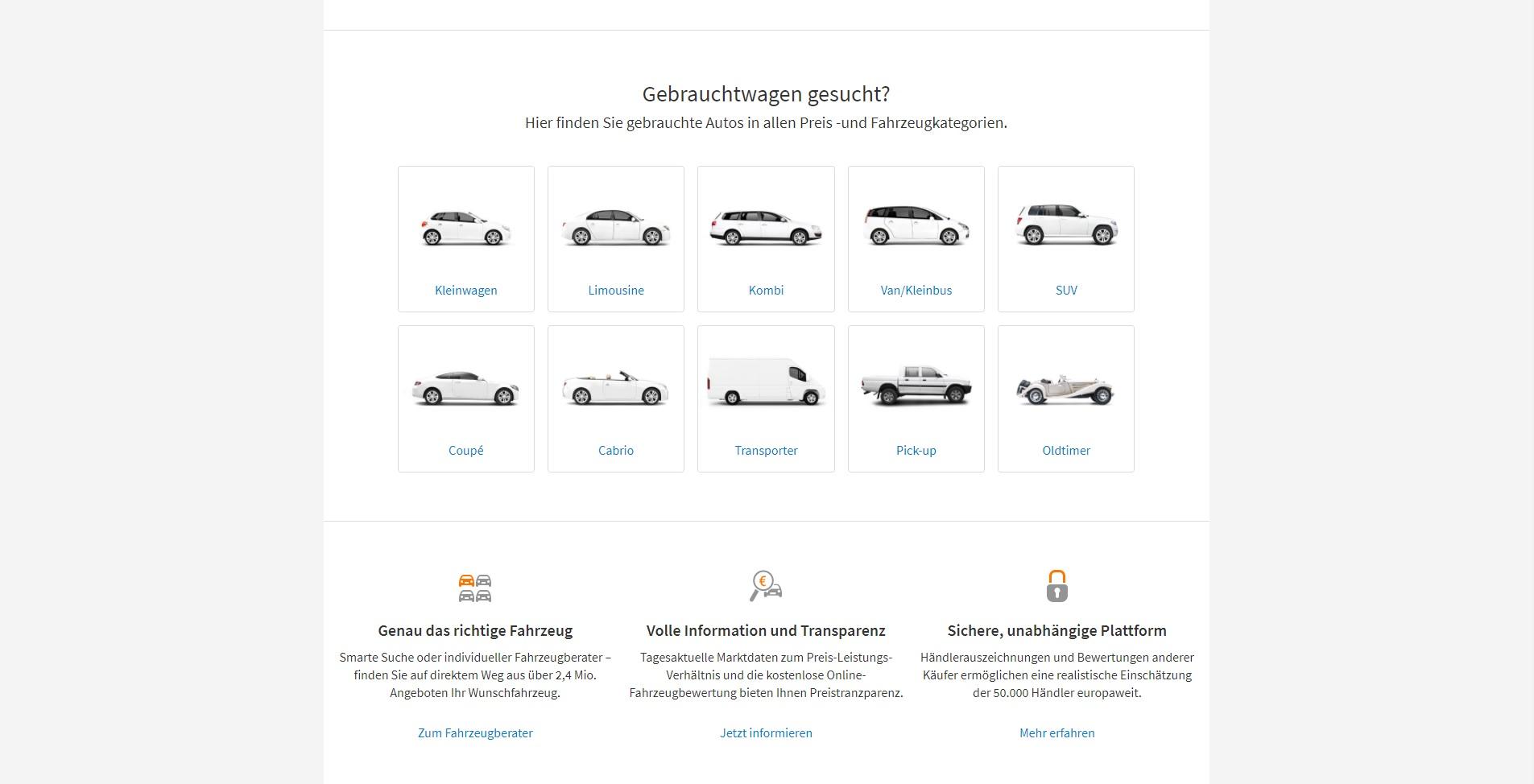 Alternativen Zu Autoscout24 Die Besten Autoscout24 Alternativen 2019