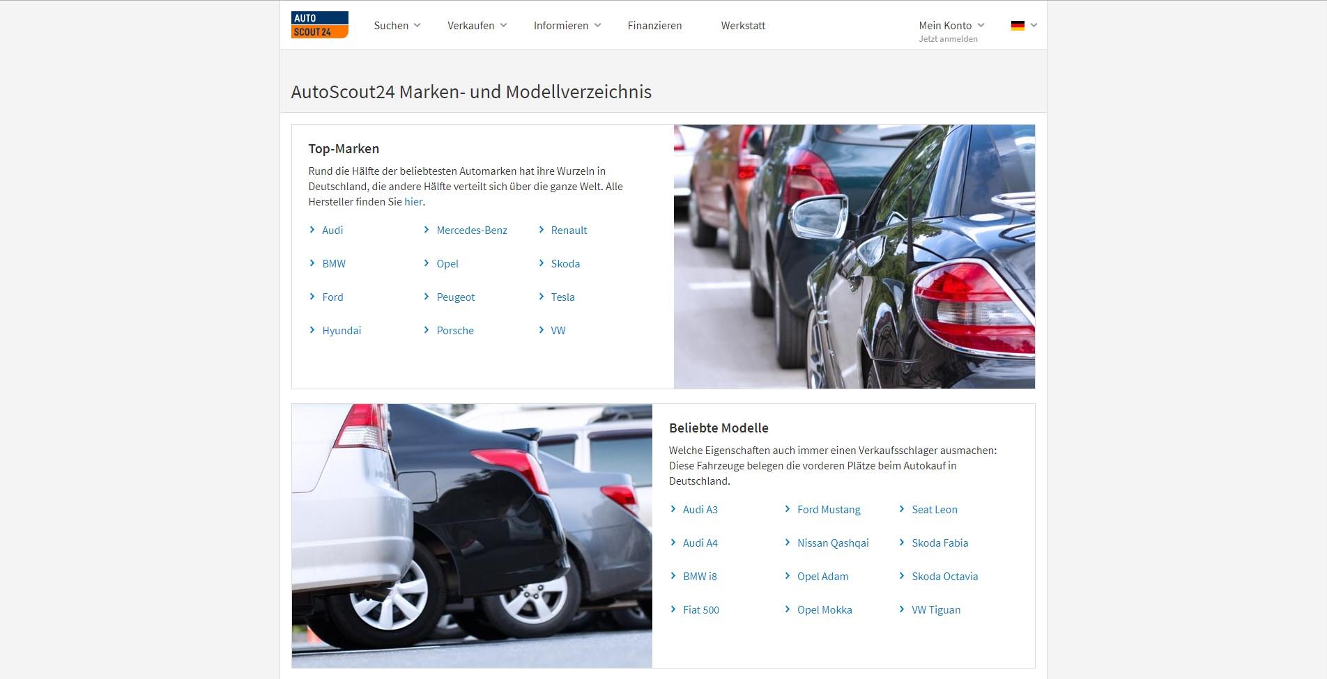 Mobile autoscout24 gleichzeitig durchsuchen