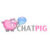 CHAT PIG One on One Chat Logo