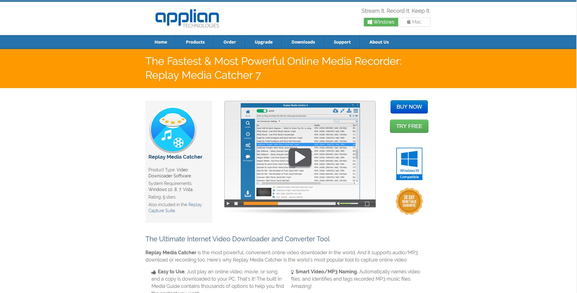 Alternativen zu Replay Media Catcher Video-Grabbing - Die besten