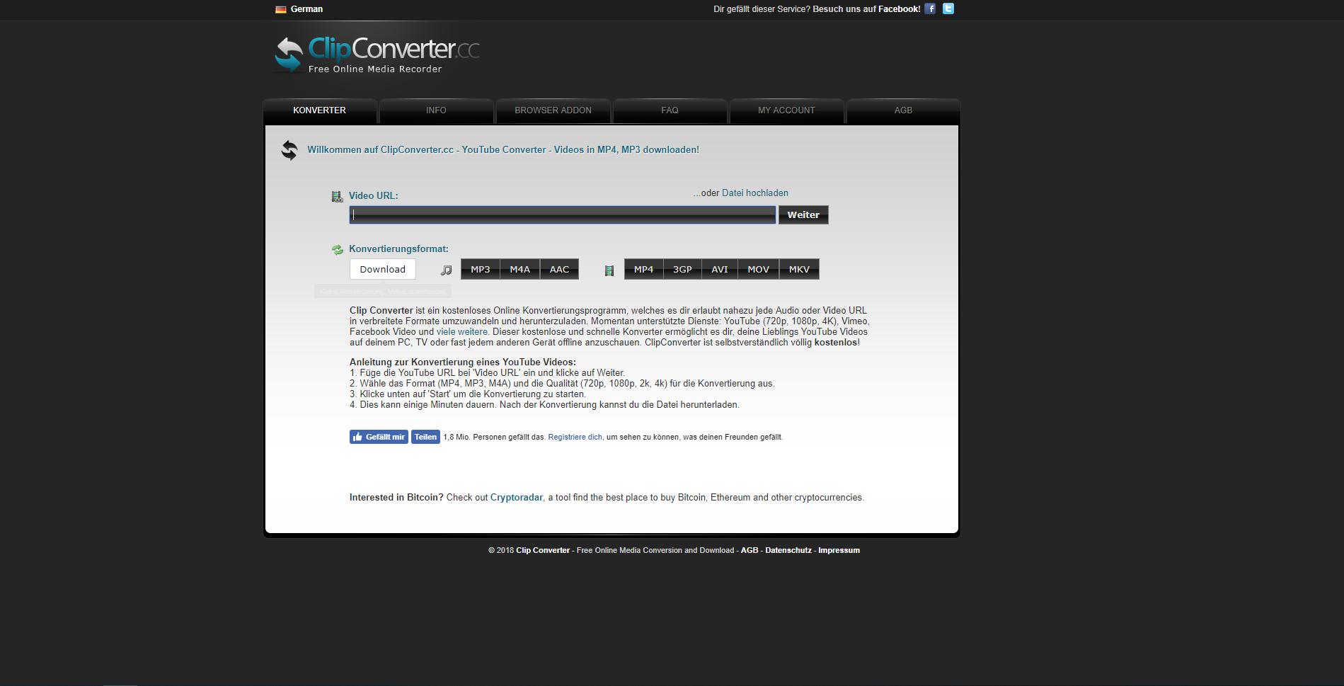 Alternativen zu Video-Grabbing ClipConverter - Die besten