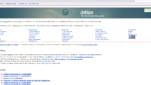 Debian Betriebssysteme Linux Distribution Startseite Screenshot 1