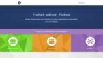 Fedora Betriebssysteme Linux Distribution Startseite Screenshot 1