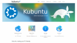 Kubuntu Betriebssysteme Linux Derivat Startseite Screenshot 1