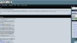 OpenWrt Betriebssysteme Linux Distribution Startseite Screenshot 1