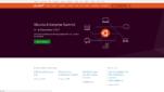 Ubuntu Betriebssysteme Linux Distribution Startseite Screenshot 1