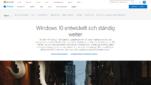 Windows 10 Betriebssysteme Startseite Screenshot 1