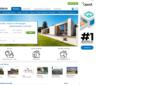 Immobilien.de Immobilienbörse Wohnung mieten Haus kaufen Startseite Screenshot 1