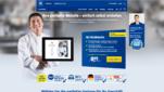 1und1 Homepage Baukästen Webseite erstellen kostenlos Homepage erstellen Startseite Screenshot 1