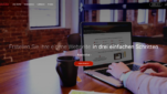 SimpleSite Homepage Baukästen Webseite erstellen kostenlos Homepage erstellen Startseite Screenshot 1