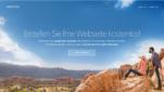 Webnode Homepage Baukästen Webseite erstellen kostenlos Homepage erstellen Startseite Screenshot 1
