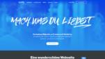 Weebly Homepage Baukästen Webseite erstellen kostenlos Homepage erstellen Startseite Screenshot 1
