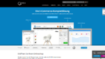 Gambio Onlineshop System E-Commerce Software Startseite Screenshot 1