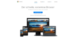Google Chrome Browser Startseite Screenshot 1