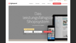 Lightspeed Onlineshop System E-Commerce Software Startseite Screenshot 1