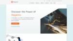 Magento Onlineshop System E-Commerce Software Startseite Screenshot 1