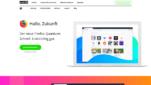 Mozilla Firefox Browser Startseite Screenshot 1