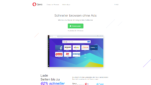 Opera Browser Startseite Google Chrome Alternative Screenshot 1