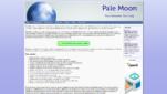 Pale Moon Browser Startseite Google Chrome Alternative Screenshot 1