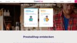 PrestaShop Onlineshop System E-Commerce Software Startseite Screenshot 1