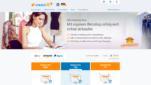 STRATO Onlineshop System E-Commerce Software Startseite Screenshot 1