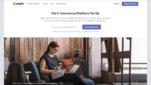 Shopify Onlineshop System E-Commerce Software Startseite Screenshot 1