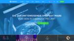 Shopware Onlineshop System E-Commerce Software Startseite Screenshot 1
