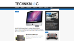 Technikblog Technik Blog Startseite Screesnshot 1