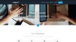 Adgoal Affiliate Anbieter Startseite Screenshot 1