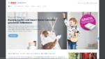 Bosch Smart Home Anbieter Startseite Screenshot 1