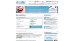 Check Zahnzusatzversicherung Vergleich Startseite Screenshot 1