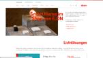 EON Smart Home Anbieter Startseite Screenshot 1