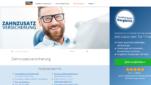 FinanceScout24 Zahnzusatzversicherung Vergleich Startseite Screenshot 1