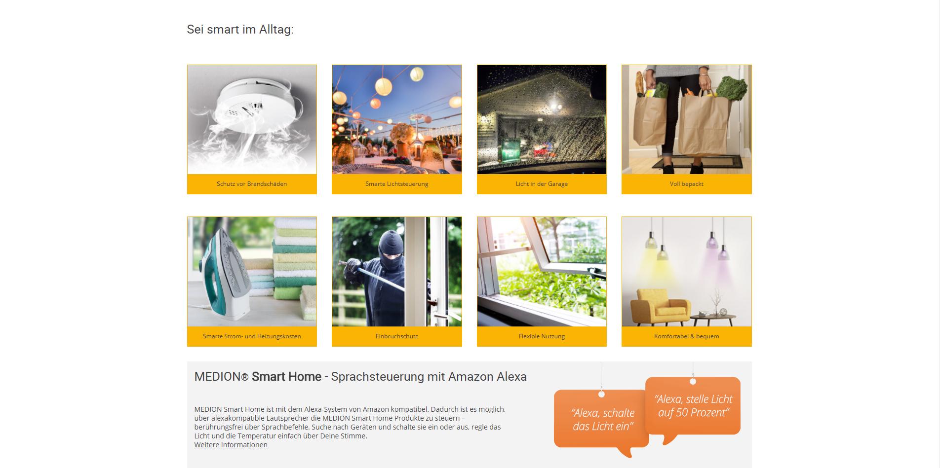 medion smart home anbieter szenarien screenshot 3 azu. Black Bedroom Furniture Sets. Home Design Ideas