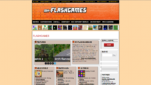 My-Flashgames Flashgames Startseite Screenshot 1
