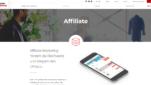 Rakuten Marketing Affiliate Anbieter Startseite Screenshot 1