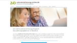 Zahnversicherung-online.de Zahnzusatzversicherung Vergleich Startseite Screenshot 1