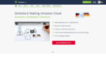 E-Mail-Anbieter freenet Mail Screenshot 1