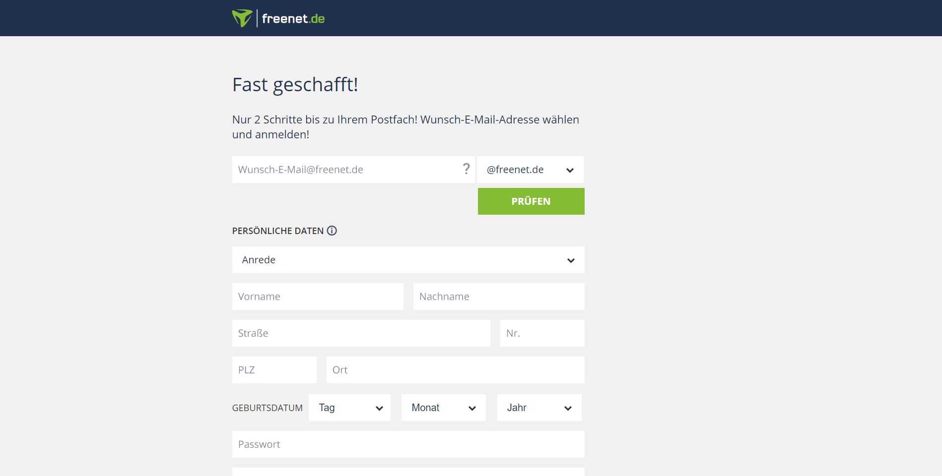 freenet e mail erstellen